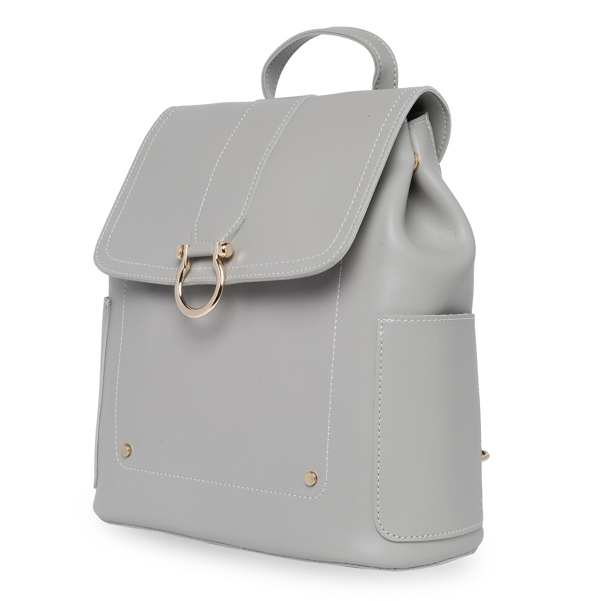 Globus Light Grey Backpack-3