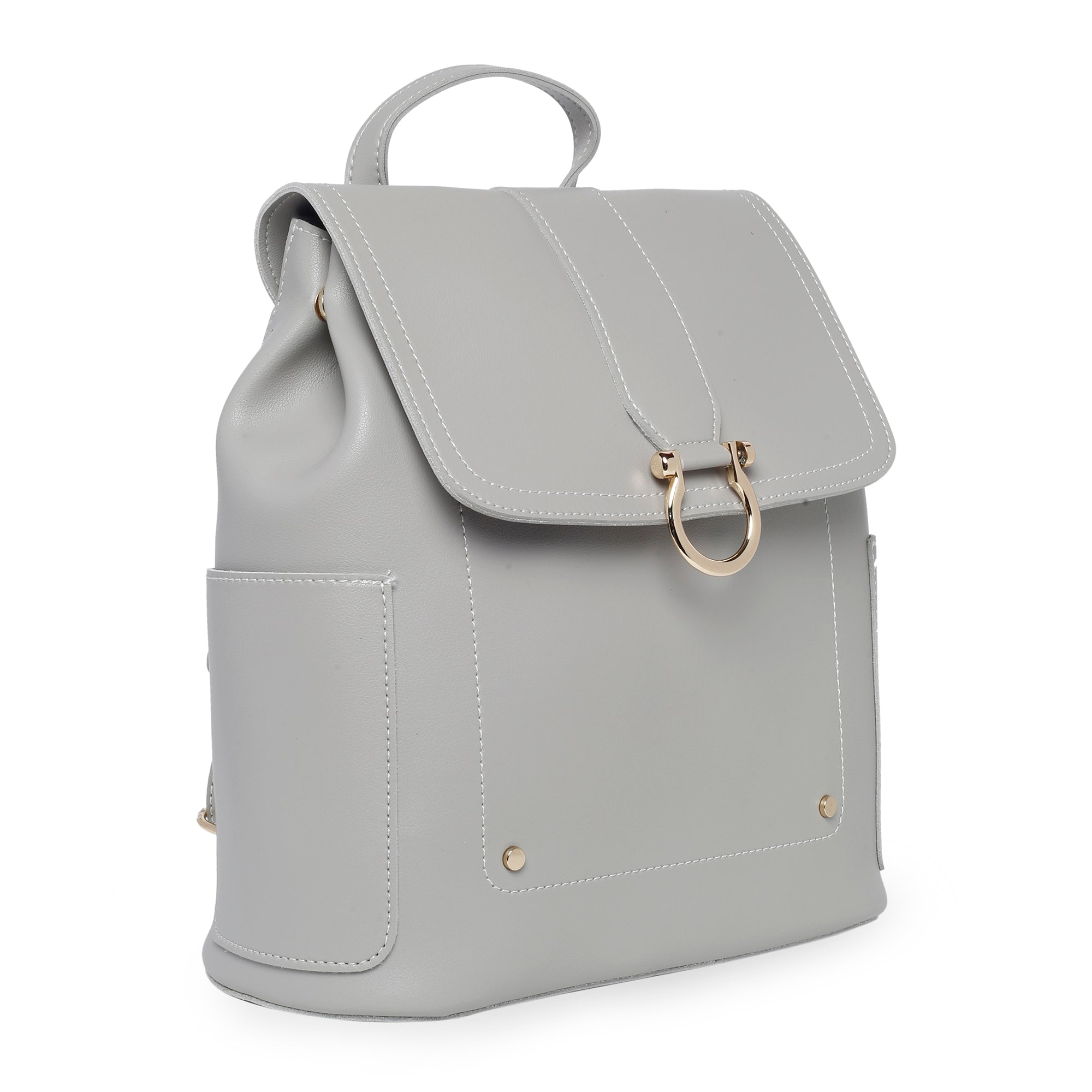 Globus Light Grey Backpack-4