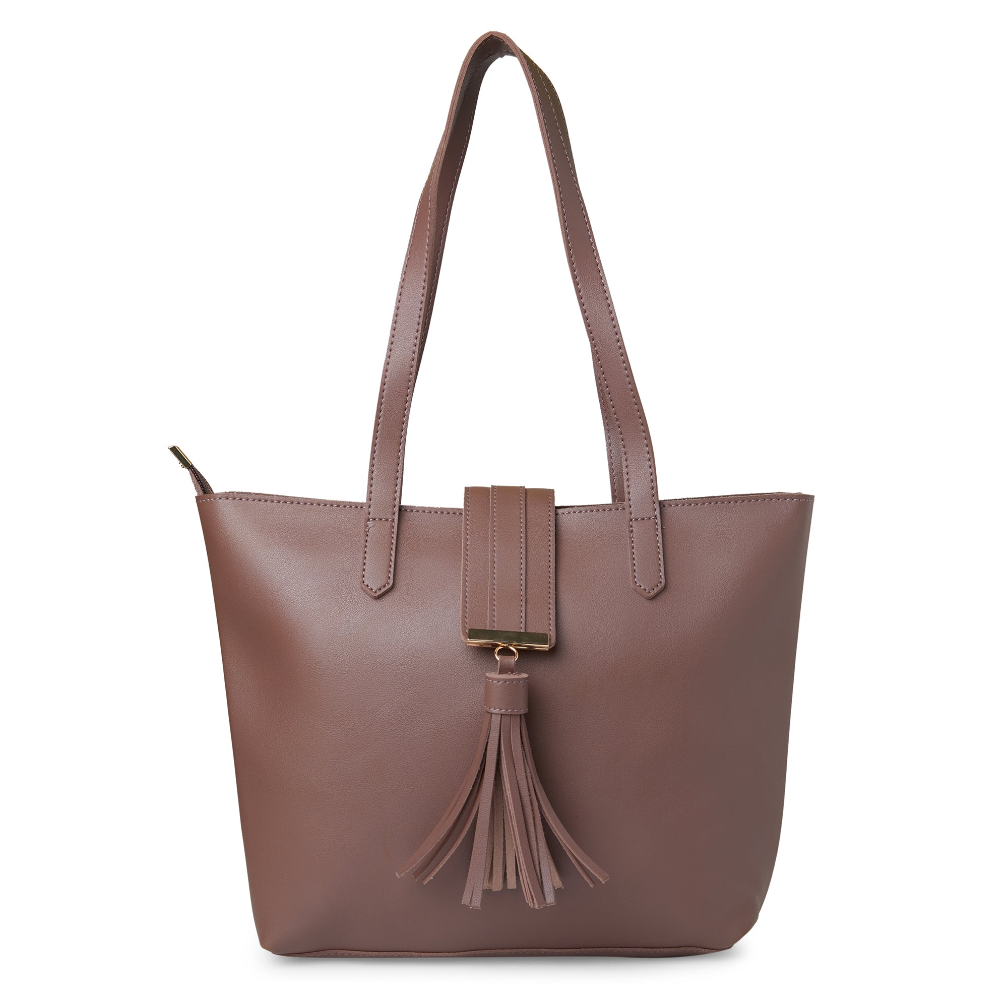 Globus Dark Taupe Shopper Bag-1