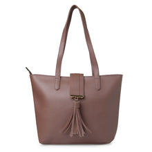 Load image into Gallery viewer, Globus Dark Taupe Shopper Bag-1
