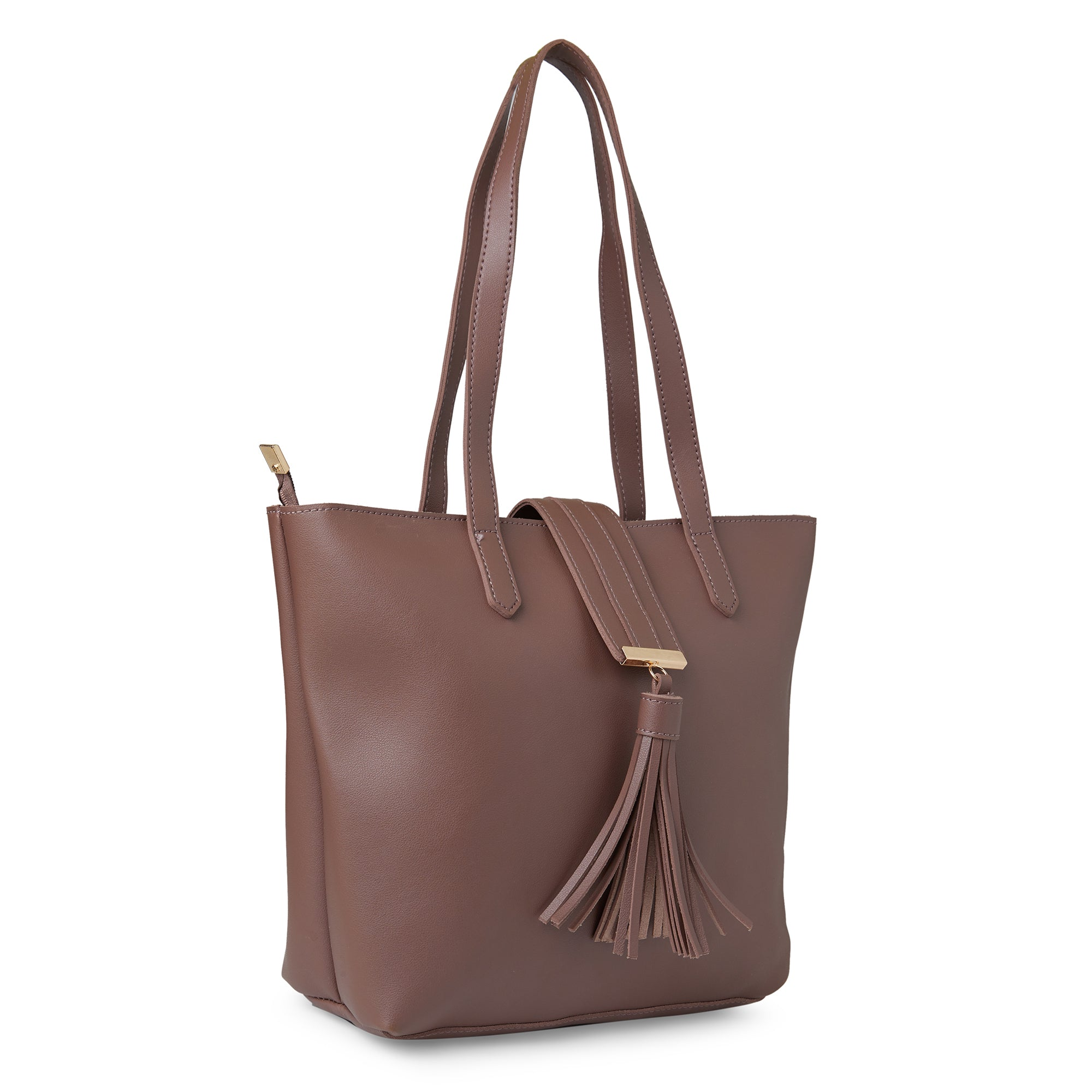 Globus Dark Taupe Shopper Bag-2