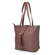 Load image into Gallery viewer, Globus Dark Taupe Shopper Bag-5