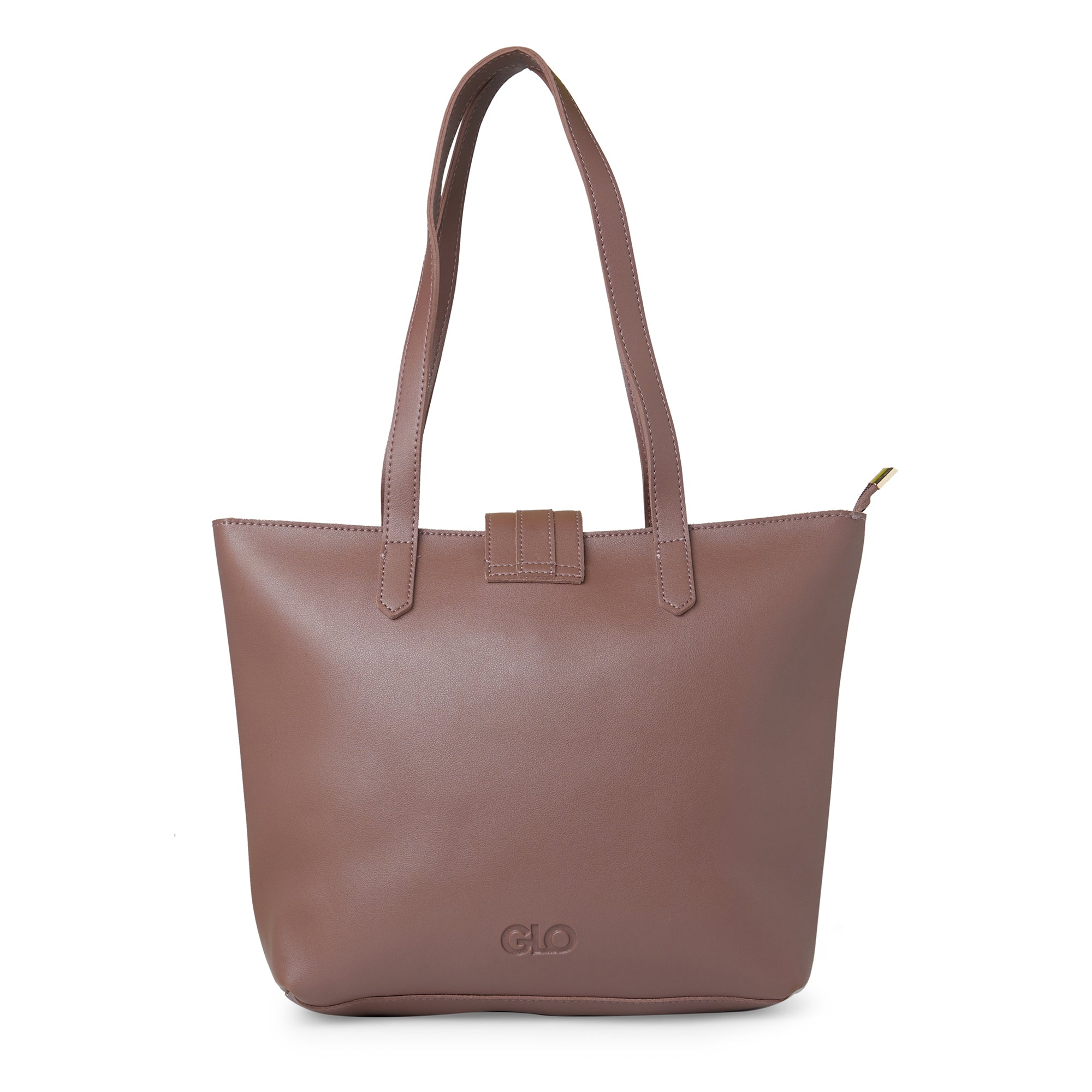 Globus Dark Taupe Shopper Bag-6