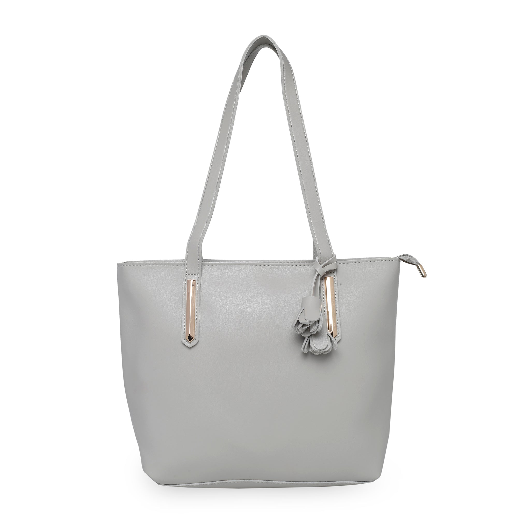 Globus Light Grey Shopper Bag-1
