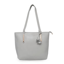 Load image into Gallery viewer, Globus Light Grey Shopper Bag-1