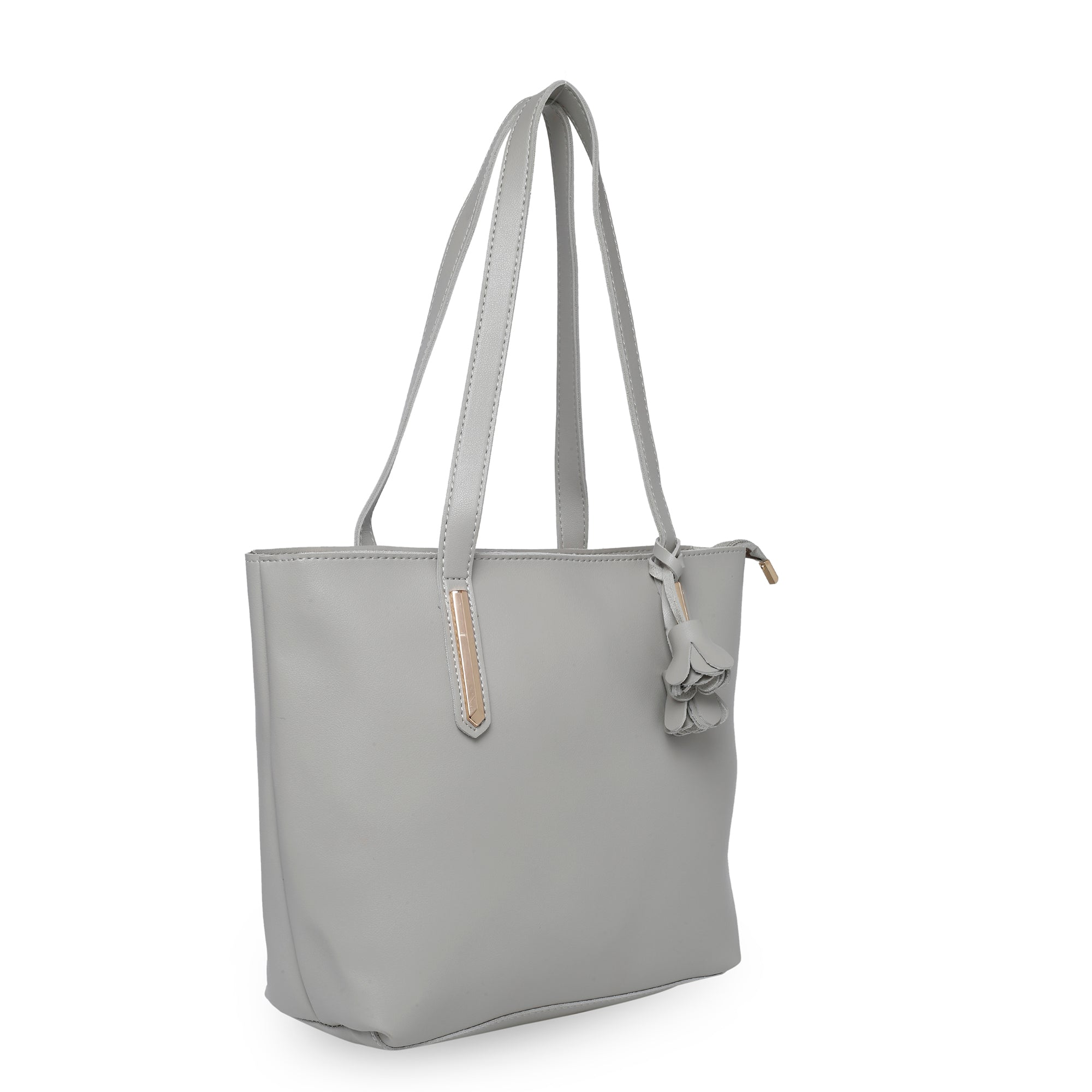 Globus Light Grey Shopper Bag-4