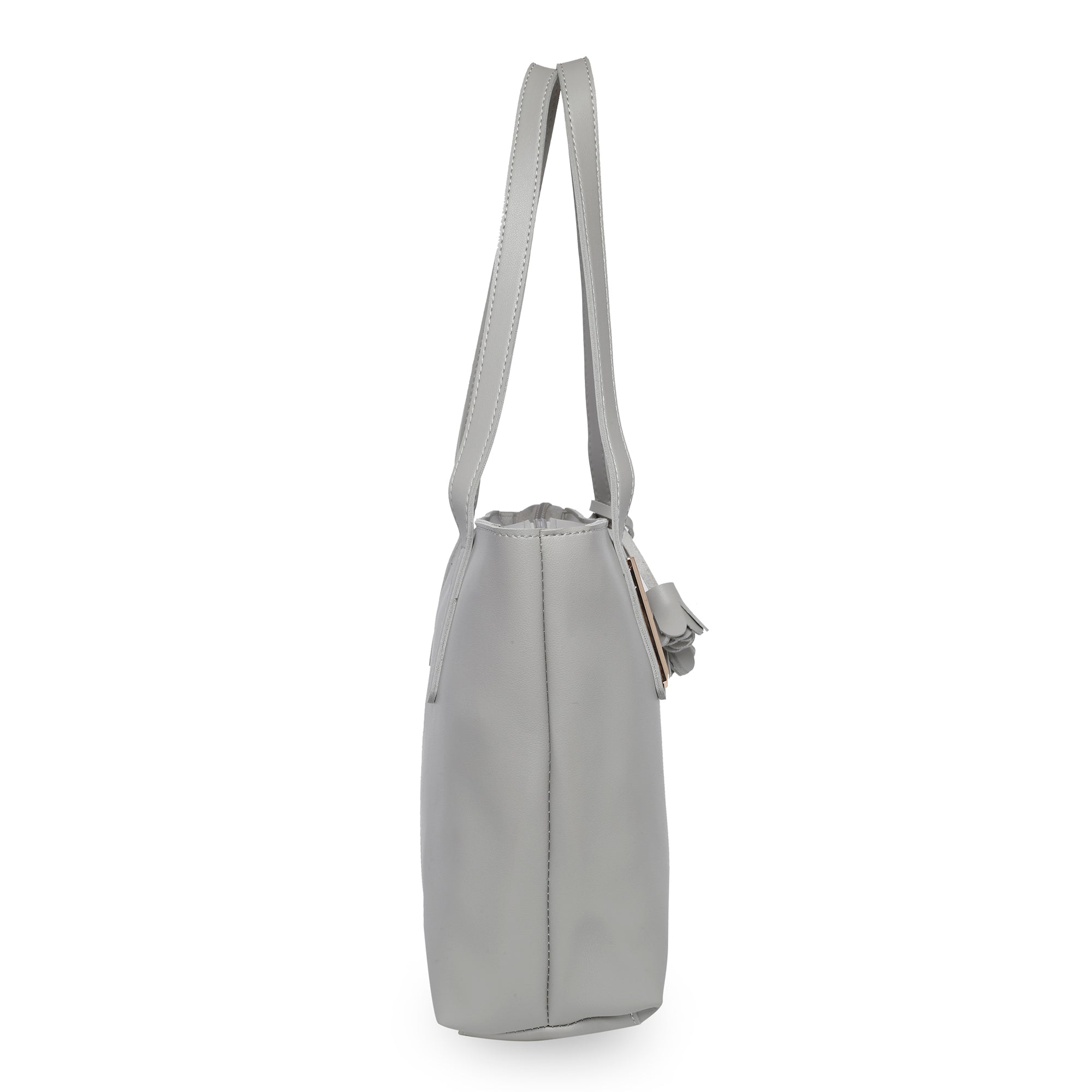 Globus Light Grey Shopper Bag-2