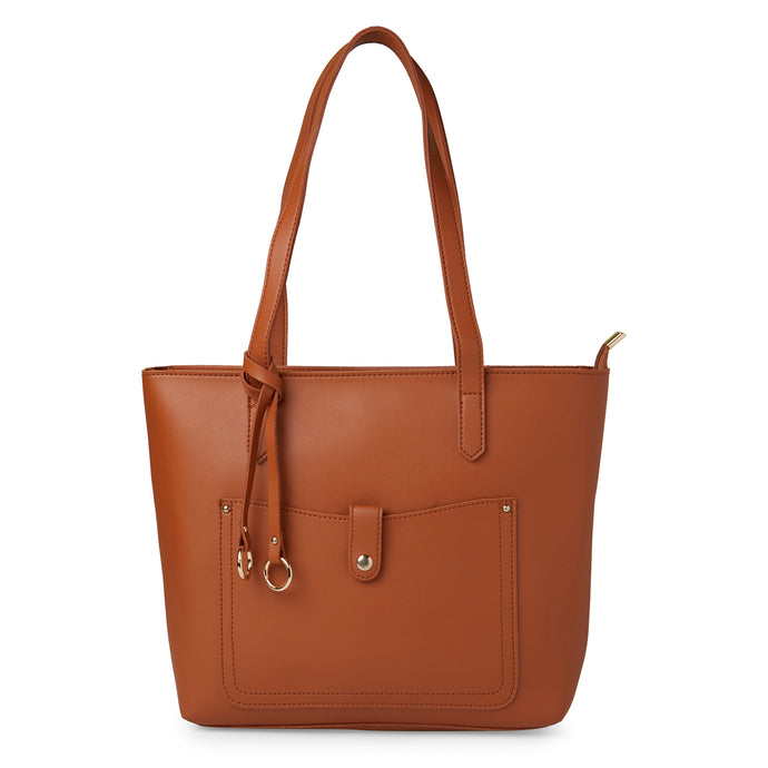 Globus Tan Shopper Bag-1