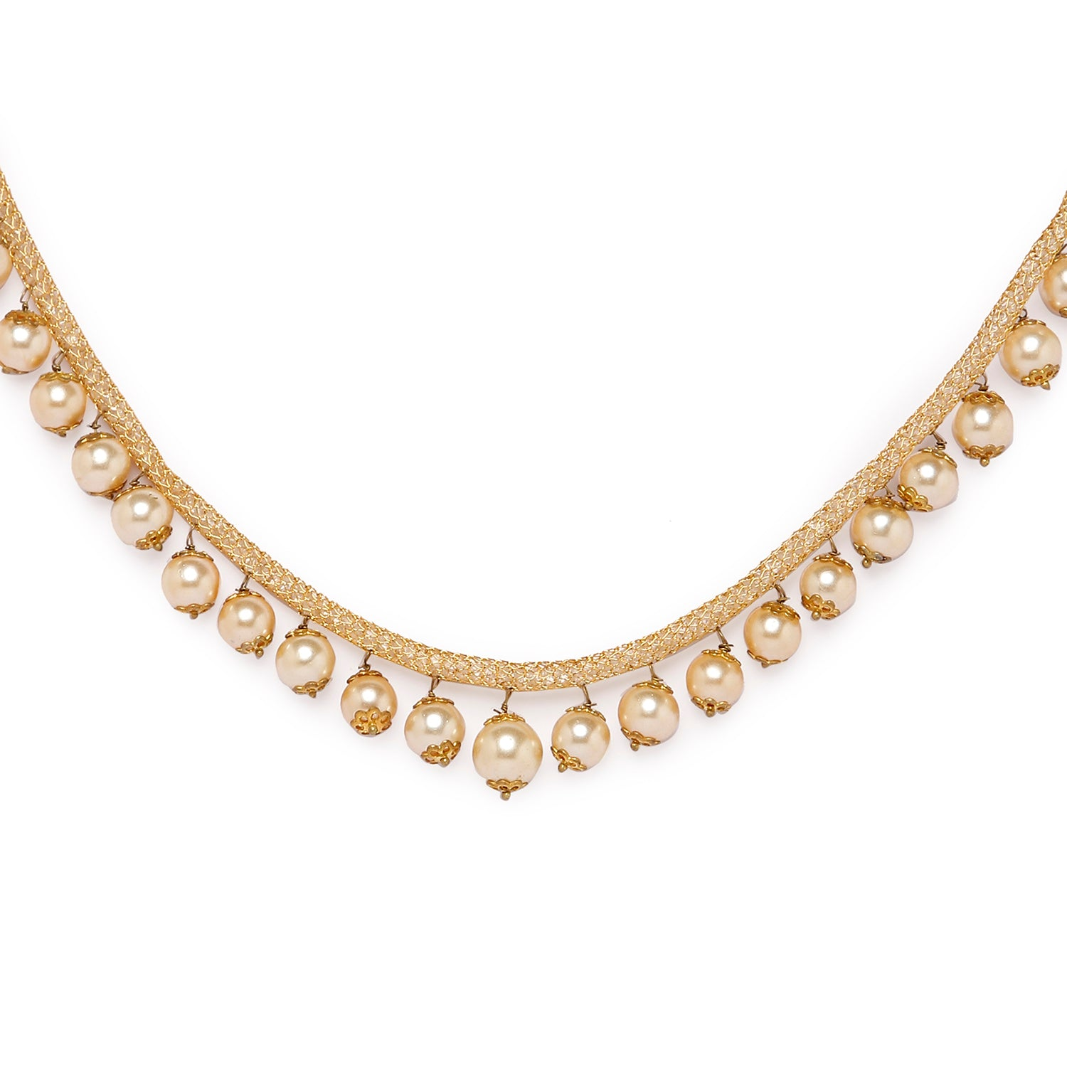 Globus Gold Ethnic Necklace-2