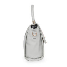 Load image into Gallery viewer, Globus Grey Nude & White Hand Bag-2