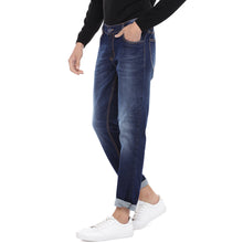 Load image into Gallery viewer, Blue Slim Fit Mid Rise Clean Look Jeans-2