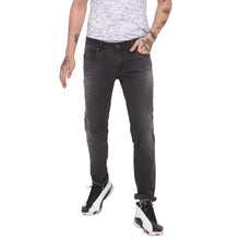 Load image into Gallery viewer, Faded Slim Fit Grey Denims-1
