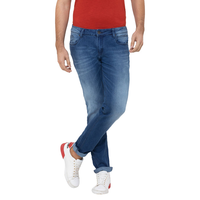 Globus Blue Washed Clean Look Jeans-1