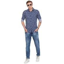 Load image into Gallery viewer, Faded Slim Fit Blue Denims-4