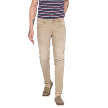 Load image into Gallery viewer, Solid Slim Fit Khaki Denims-1