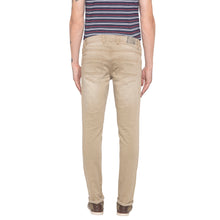 Load image into Gallery viewer, Solid Slim Fit Khaki Denims-3