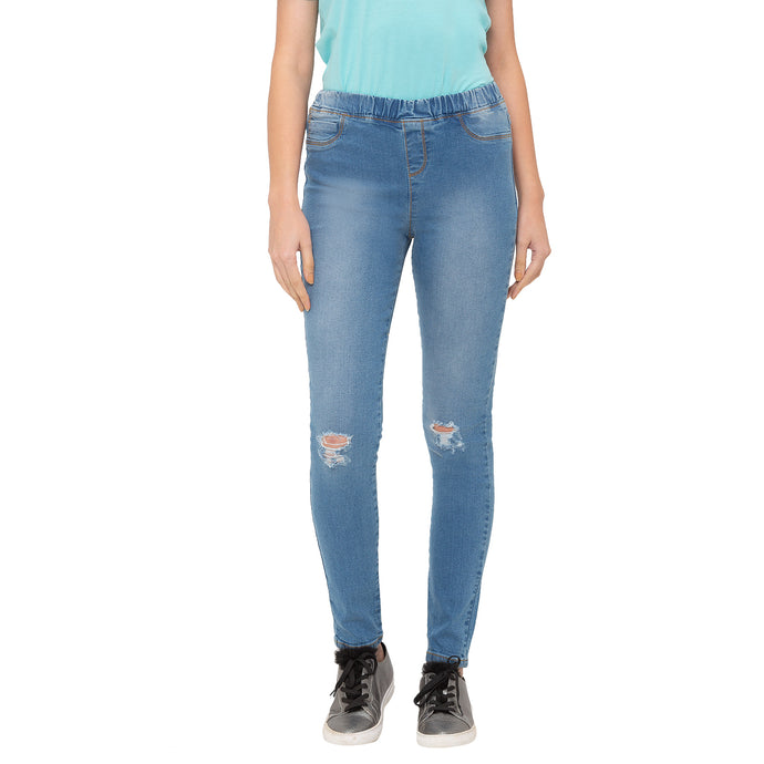 Globus Blue Ripped Jeans-1