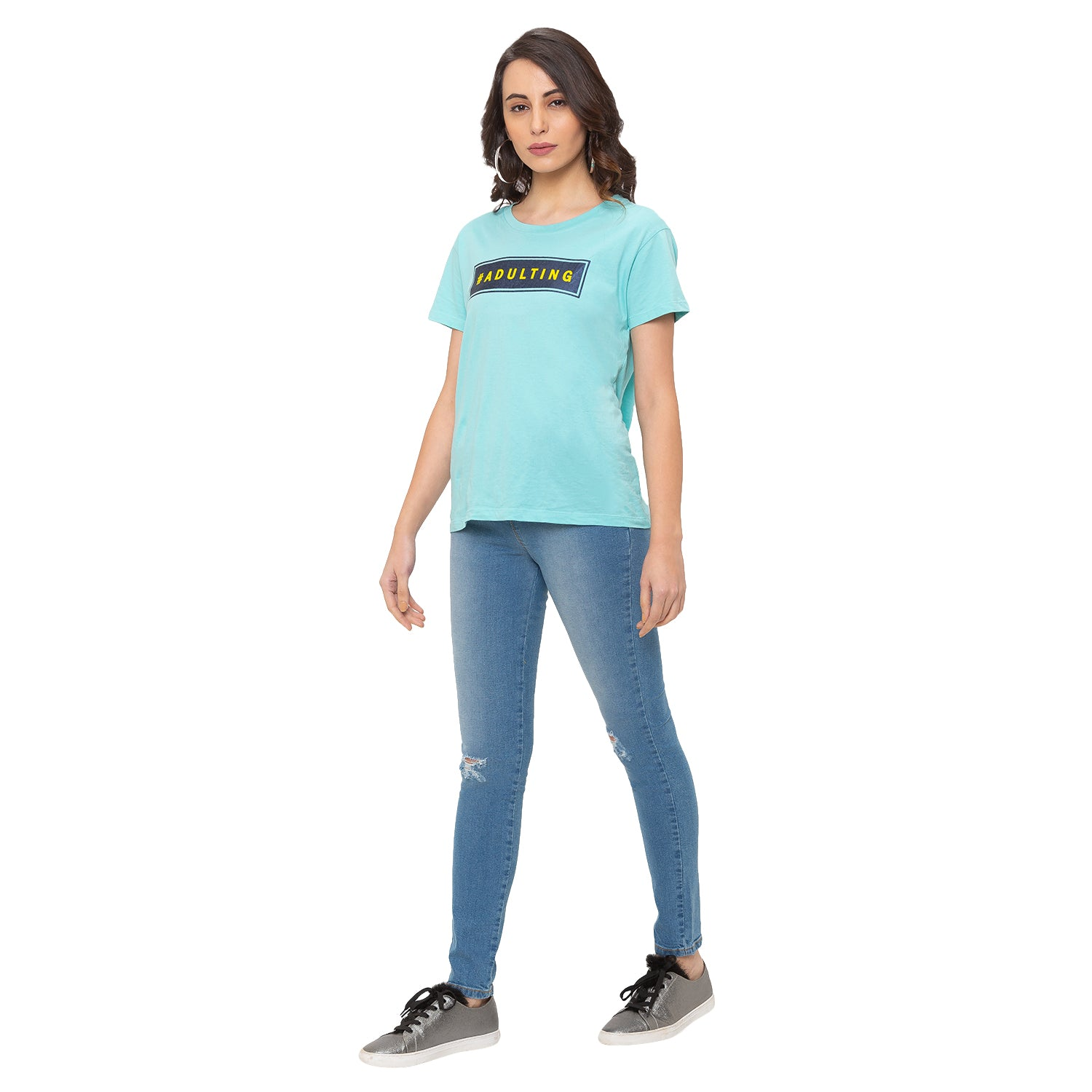 Globus Blue Ripped Jeans-4