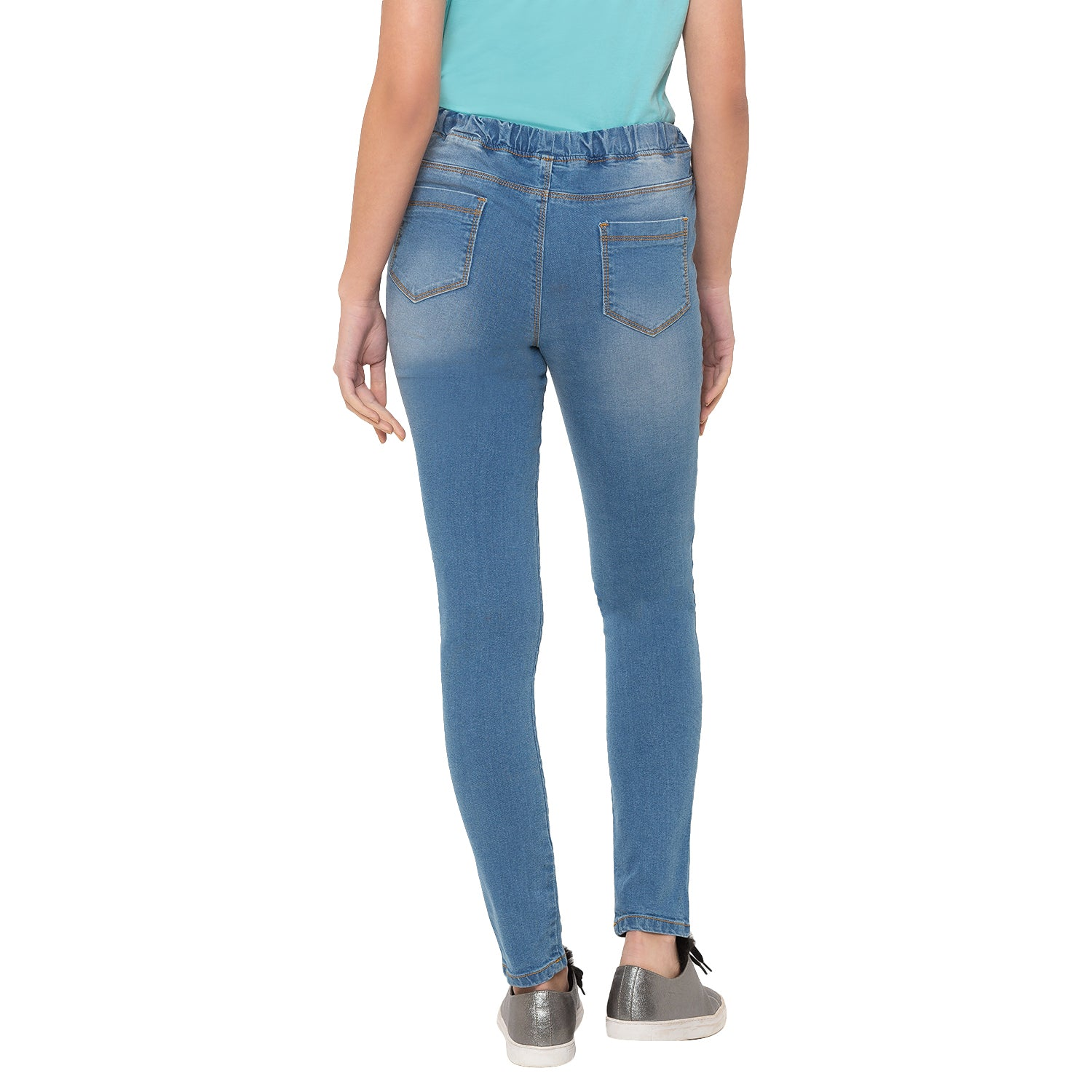 Globus Blue Ripped Jeans-3