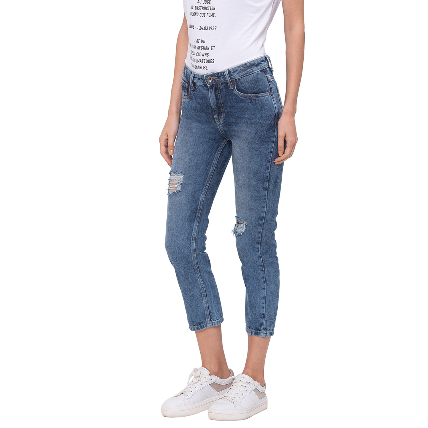 Globus Blue Washed Jeans-2