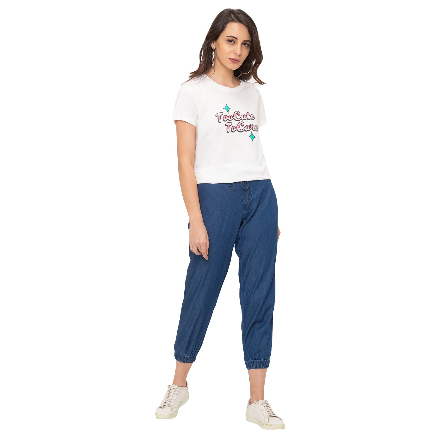 Globus Blue Solid Jeans-6