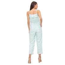 Load image into Gallery viewer, Globus Blue Printed Jumpsuit-3