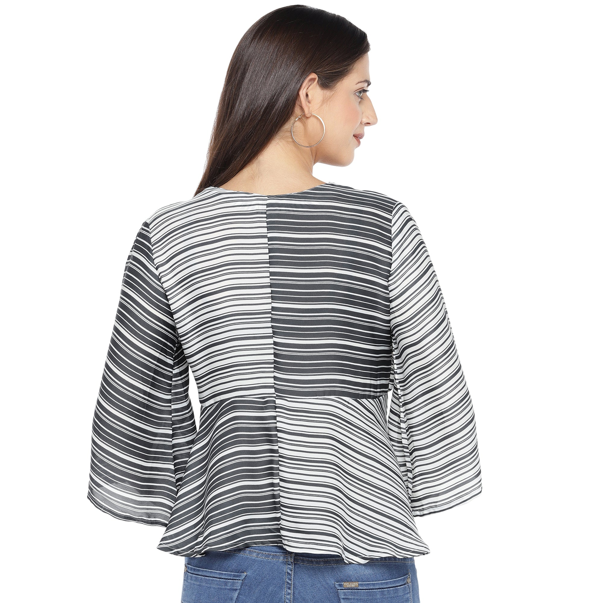 Black Striped Top-3