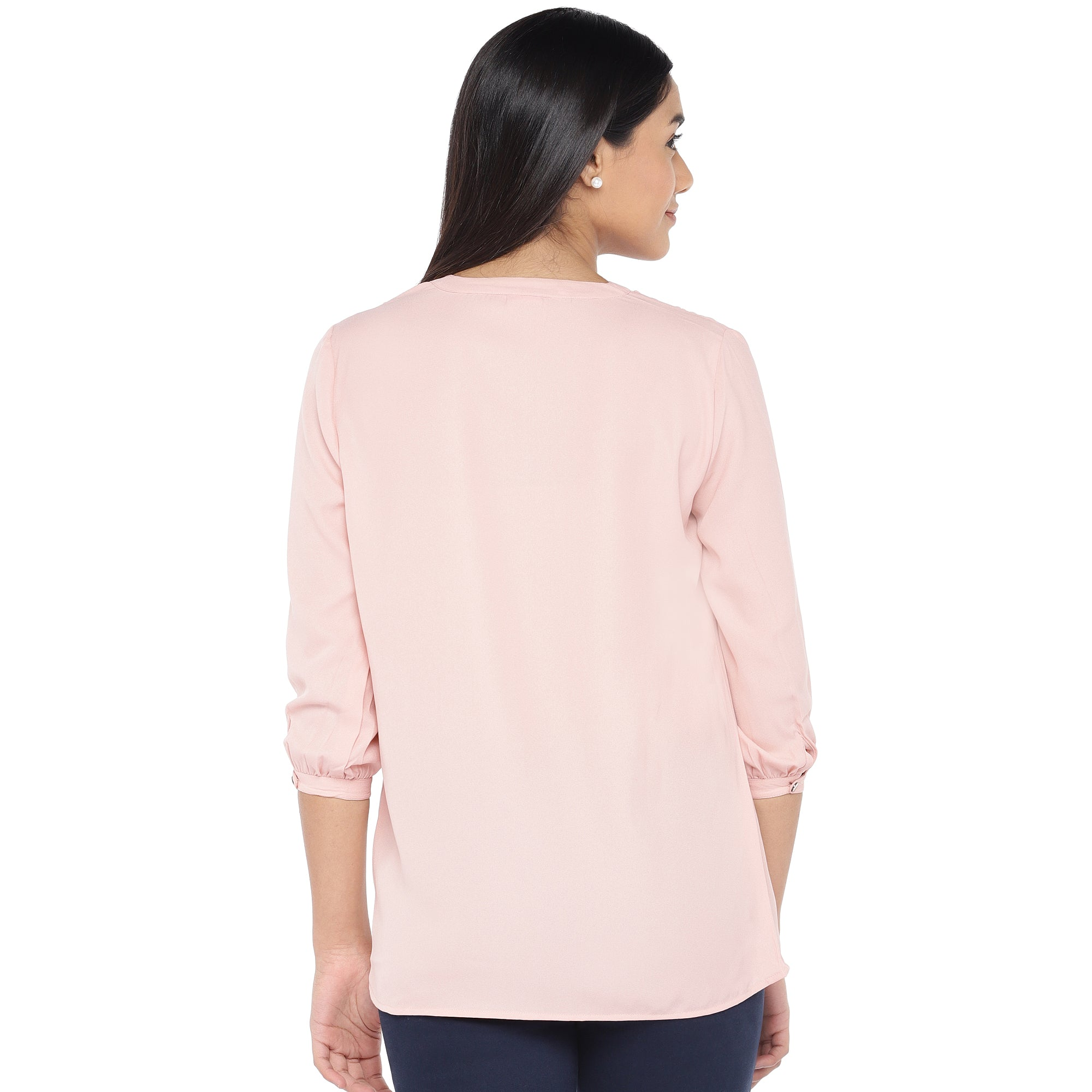 Pink Solid Top-3
