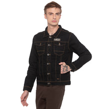 Load image into Gallery viewer, Black Denim Jacket-2