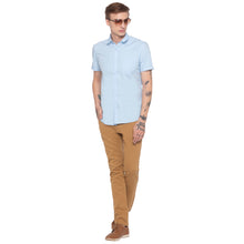 Load image into Gallery viewer, Solid Slim Fit Beige Chinos-4
