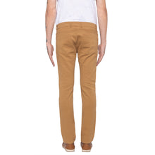 Load image into Gallery viewer, Solid Slim Fit Beige Chinos-3
