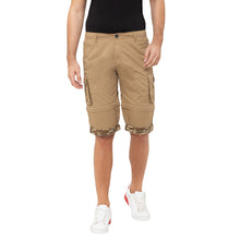 Load image into Gallery viewer, Globus Khaki Solid Shorts-1