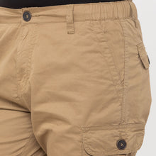 Load image into Gallery viewer, Globus Khaki Solid Shorts-5