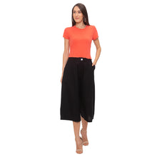 Load image into Gallery viewer, Globus Black Solid Trousers-4