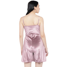 Load image into Gallery viewer, Pink Solid Playsuit-3