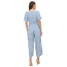 Load image into Gallery viewer, Globus Blue Striped Jumpsuit-3