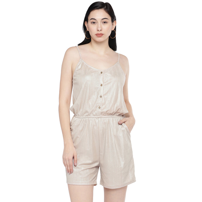 Nude Self Design Playsuit-1