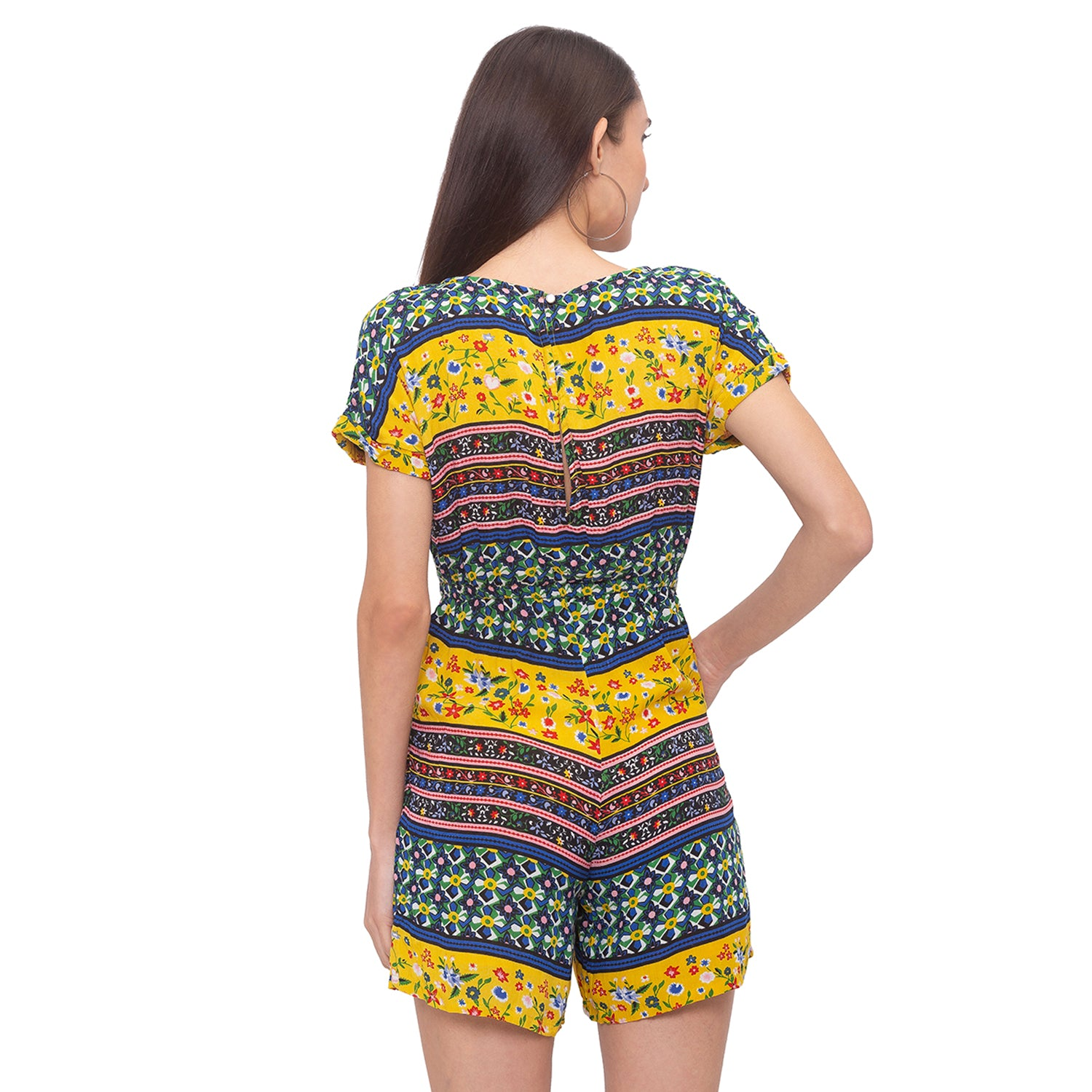 Globus Multi Printed Playsuit-3