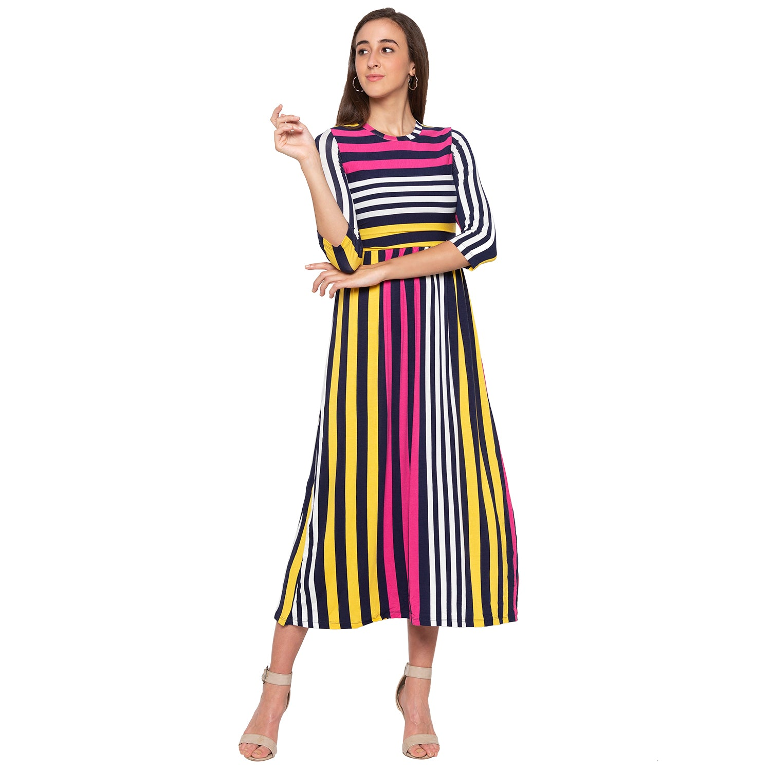 Multi Striped Dress-1