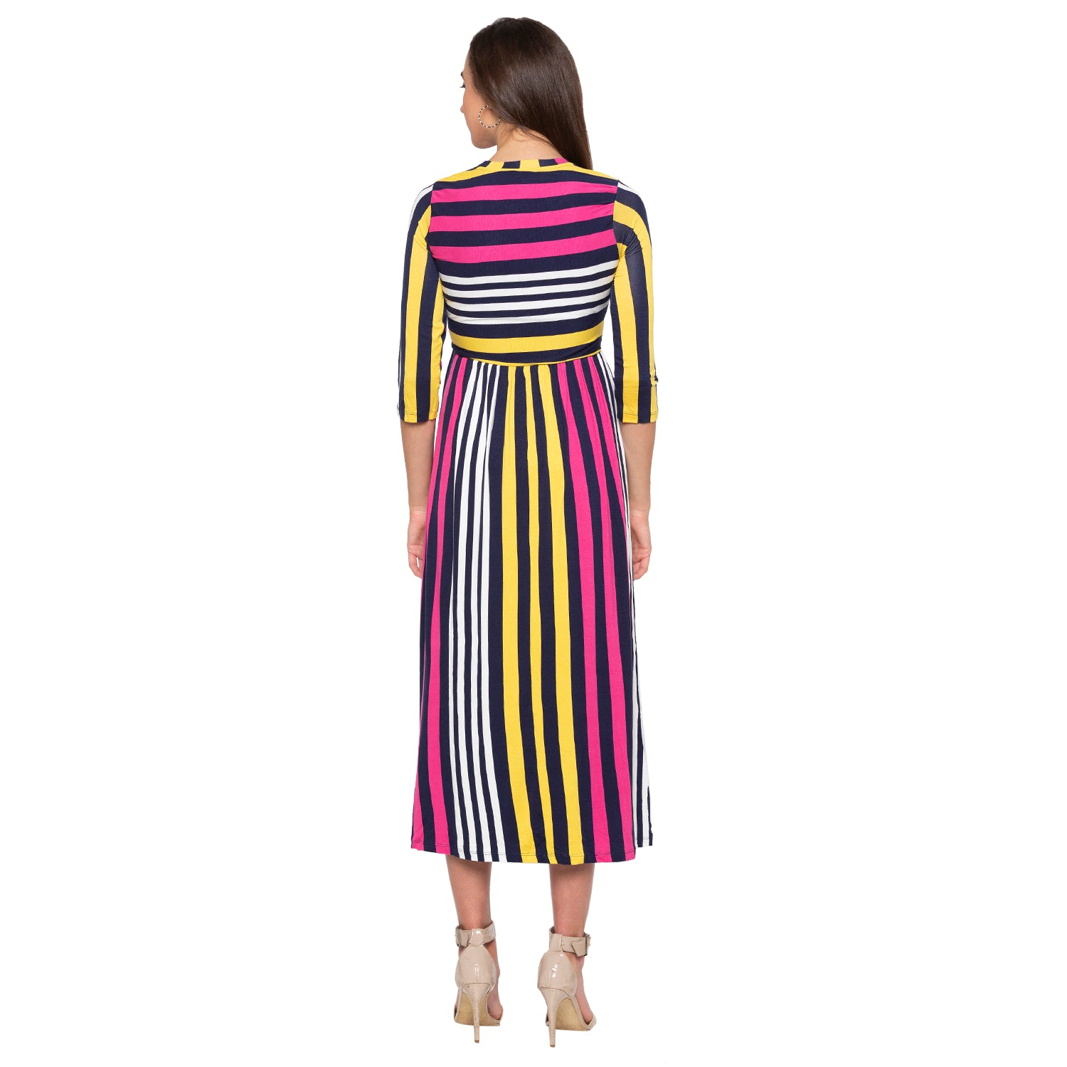 Multi Striped Dress-3
