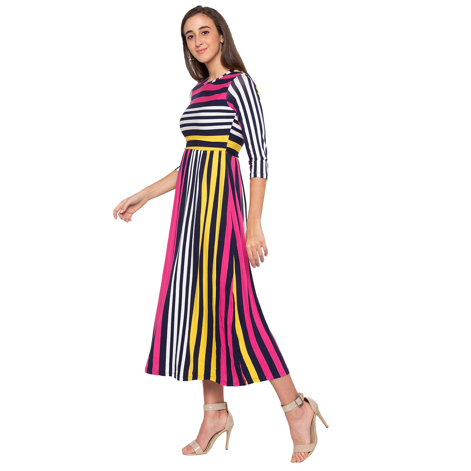 Multi Striped Dress-2