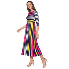 Load image into Gallery viewer, Multi Striped Dress-2