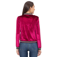 Load image into Gallery viewer, Globus Maroon Solid Jacket-3
