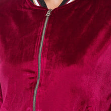 Load image into Gallery viewer, Globus Maroon Solid Jacket-5