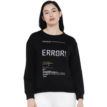 Load image into Gallery viewer, Black Printed Sweatshirt-1