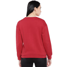 Load image into Gallery viewer, Red Printed Sweatshirt-3