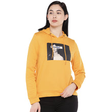Load image into Gallery viewer, Mustard Printed Sweatshirt-1