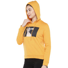 Load image into Gallery viewer, Mustard Printed Sweatshirt-2
