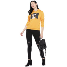 Load image into Gallery viewer, Mustard Printed Sweatshirt-4