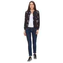 Load image into Gallery viewer, Globus Black Printed Jacket-6
